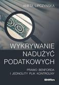 Aneta Lipczyńska - Wykrywanie nadużyć podatkowych.