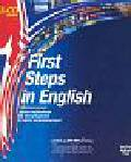 First Steps in English 3CD