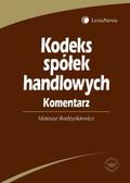 Rodzynkiewicz Mateusz - Kodeks spółek handlowych