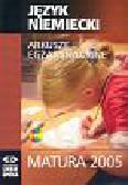 Język niemiecki Arkusze Matura 2005+CD/384102/