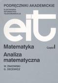 Żakowski Wojciech, Decewicz Grzegorz - Matematyka cz.I Analiza matematyczna /WNT/