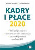 Agnieszka Jacewicz, Danuta Małkowska - Kadry i płace 2020