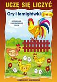 Guzowska Beata - Uczę się liczyć. Łamigłówki. 5-6 lat