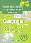 Geografia liceum zadania na mapach kont.i top