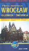 Plan miasta Wrocław Oleśnica Świdnica