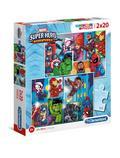 Puzzle 2x20 Supercolor Marvel Super Hero Adventures