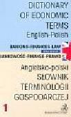 Kienzler Iwona - Angielsko-polski Słownik terminologii gospodarczej