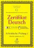 Kuciński Łukasz, Sitarek Adam - Zertyfikat Deutsch Schriftliche Prufung I