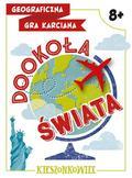 Zakaszewska Patrycja - Dookoła świata Geograficzna gra karciana Kieszonkowiec