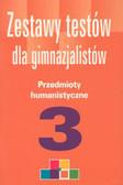 Leksy Gabriela - Zestawy testów dla gimn Humanistyczne 3