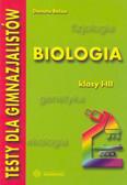 Belau Danuta - Testy dla gimnazjalistów Biologia kl I-III