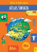 Zarawska Patrycja - Atlas świata Świat w naklejkach