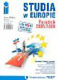 Studia w Europie Poradnik 2005/2006+CD/gratis/