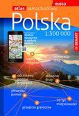 opracowanie zbiorowe - Atlas samochodowy - Polska 1: 300 000 DEMART