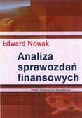 Nowak Edward - Analiza sprawozdań finansowych