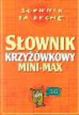 Sikorski Władysław - Słownik krzyżówkowy mini-max