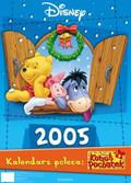 Kalendarz ścienny Kubusia Puchatka 2005