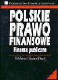 Chojna - Duch Elżbieta - Polskie prawo finansowe   Finanse publiczne