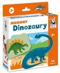 Opracowanie zbiorowe - Kapitan Nauka. Memory. Dinozaury 3+