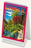 praca zbiorowa - Kalendarz 2022 Biurowy Zodiak TELEGRAPH