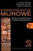 Drobiec Łukasz, Jasiński Radosław, Piekarczyk Adam - Konstrukcje murowe 2 według eurokodu 6 i norm związanych z płytą CD