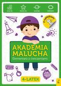 Akademia Malucha Elementarz z ćwiczeniami 4-latek