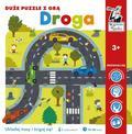 Droga Duże puzzle z grą