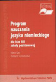 Szot Maria, starczewska Barbara - Program nauczania języka niemieckiego kl.1-3