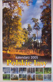 Kalendarz 2005 A2 Polskie lasy