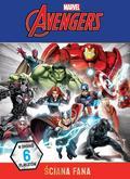 praca zbiorowa - Ściana fana. Plakaty i kolorowanki. Marvel Avenger