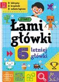 Opracowanie zbiorowe - Łamigłówki 6-letniej główki. Labirynty, krzyżówki, zadania logiczne