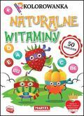praca zbiorowa - Kolorowanka z naklejkami Naturalne witaminy