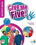 Donna Shaw, Rob Sved - Give Me Five! 5 Activity Book + kod MACMILLAN