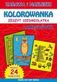 Guzowska Beata, Bindek Marta - Kolorowanka zeszyt siedmiolatka. Łamigłówki