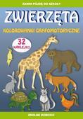 Guzowska Beata, Zakierska Tina - Zwierzęta kolorowanki grafomotoryczne