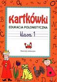 Guzowska Beata - Kartkówki Edukacja polonistyczna klasa 1