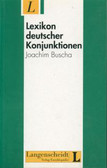 Lexikon deutscher Konjunktionen DaF