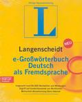 e-Grossworterbuch Deutsch als Fremdsprache. Płyta CD-ROM