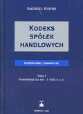 Kidyba Andrzej - Kodeks spółek handlowych T 1/2