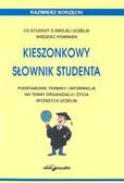 Borzędzki Kazimierz - Kieszonkowy słownik studenta