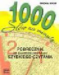 Krop Iwona - 1000 słów na minutę podręcznik do samodzielnej nauki szybkiego czytania