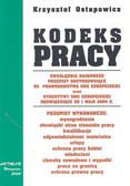 Ostapowicz Krzysztof - Kodeks pracy wyd.7 /Artman/