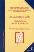 Bałagan Andrzej (red.) - Rada Ministrów
