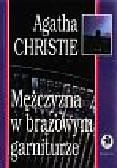 Christie Agatha - Mężczyzna w brązowym garniturze
