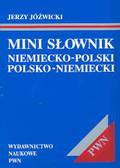 Jóźwicki Jerzy - Mini słownik niemiecko-polski, polsko-niemiecki