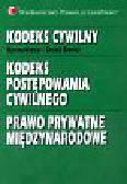 Bieniek Gerard - Kodeks cywilny Kodeks postępowania cywilnego Prawo prywatne międzynarodowe