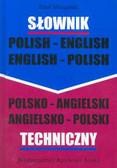 Mizgalski Emil - Słownik techniczny polsko - angielski i angielsko - polski