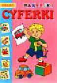 Cyferki - naklejki 5 - 6 lat