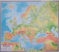 Wyszomirska Lidia (red.) - Europa mapa fizyczna