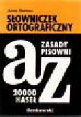Bartosz Anna - Słowniczek ortograficzny